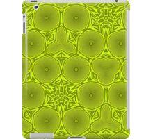 green abstract pattern iPad Case/Skin