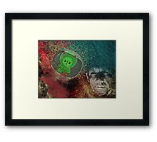 The Mad Scientist Framed Print