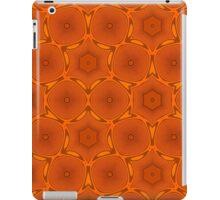 Orange modern pattern iPad Case/Skin
