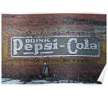 Pepsi Generation Past Poster