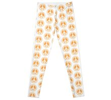 7 DAYS OF SUMMER- TROPPOBOHO peace man Leggings