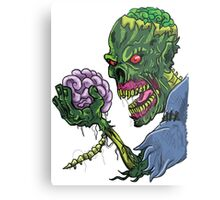 BRAINS!!! Metal Print
