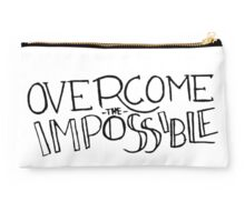 Overcome the Impossible Studio Pouch