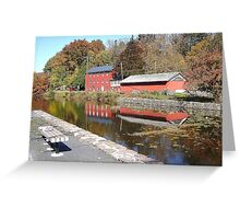 Weissport Canal + Rickert's Coal and Frieght Co.  Greeting Card