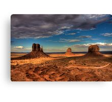 The Mittens of Monument Valley Canvas Print