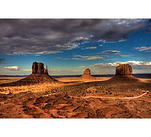 The Mittens of Monument Valley Photographic Print