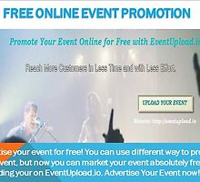 Free Online Event Promotion by sandyanderson