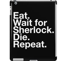 WAIT FOR SHERLOCK iPad Case/Skin