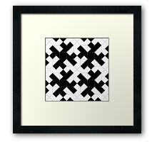 In Love with Tiles Framed Print