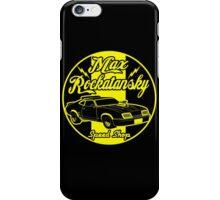Rockatansky speed shop iPhone Case/Skin