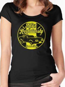 Rockatansky speed shop Women's Fitted Scoop T-Shirt