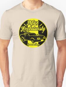 Rockatansky speed shop T-Shirt