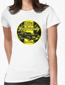 Rockatansky speed shop Womens Fitted T-Shirt
