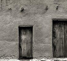 Adobe Wall by Karl Eschenbach