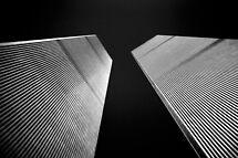 Twin Towers by Mark Van Scyoc