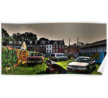untitled graffiti Poster