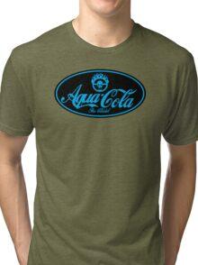 Aqua cola Tri-blend T-Shirt