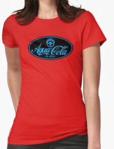 Aqua cola Womens Fitted T-Shirt