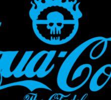 Aqua cola Sticker