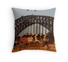 The Bridge and The Rocks (Sydney) Throw Pillow