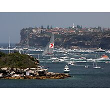 "Start of the ""Hobart"" (Sydney) Photographic Print"