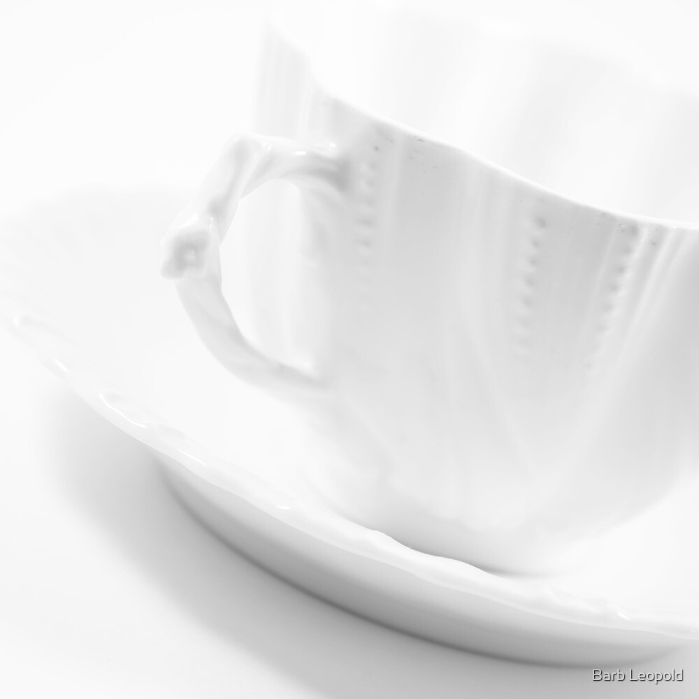 White Cup by Barb Leopold