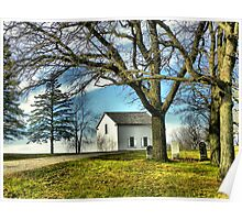 The Hauge Log Church (Est. 1852) Poster