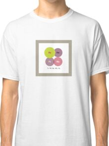 Musical Chemistry • Talking Heads Classic T-Shirt