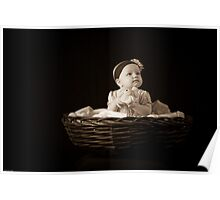 Precious in a Basket Poster