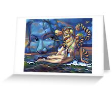 The Rebirth of Venus Greeting Card
