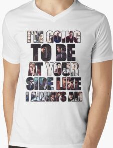 Merthur quote Mens V-Neck T-Shirt
