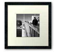Just Crossing - Arles, France - 2010 Framed Print