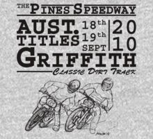 Griffith's Pines Speedway Hosts The 2010 Australian Classic Dirt Track Titles by Michael Lee