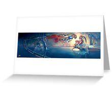 Daphnis and Chloe Greeting Card
