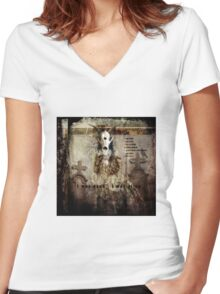 No Title 21 Women's Fitted V-Neck T-Shirt