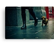 lisle street, china town, london Canvas Print