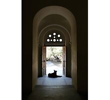 Resting In The Church Of The Holy Apostles Photographic Print