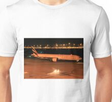 Emirates 77W Heavy - Perth Intl. Airport Unisex T-Shirt