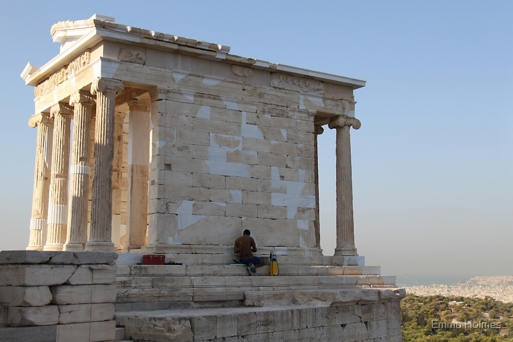 Temple of Athena Nike by Emma Holmes