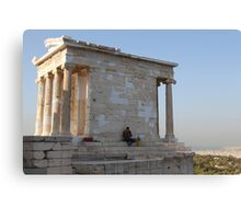 Temple of Athena Nike Canvas Print