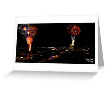 Australia Day Fireworks Greeting Card