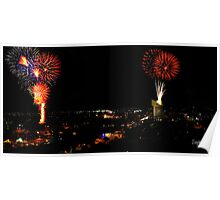 Australia Day Fireworks Poster