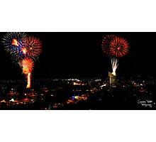 Australia Day Fireworks Photographic Print