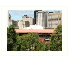 Sir Don Bradman Stand - Adelaide Oval Art Print