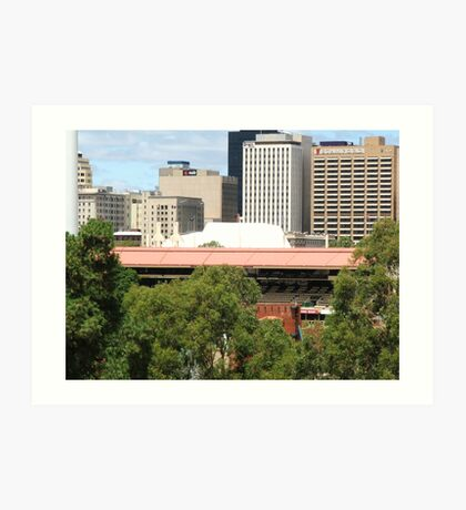 Sir Don Bradman Stand - Adelaide Oval Art Print
