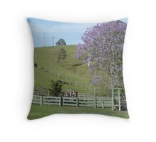 Rural Country near Bellbrook, N.S.W. Australia. Throw Pillow