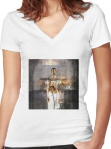 No Title 8 Women's Fitted V-Neck T-Shirt