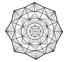 Geometric Mandala by aeebou