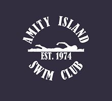 Amity Island Swim Club White Unisex T-Shirt