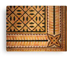 Palatine Tiles Canvas Print